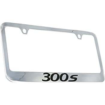 Chrysler Crossfire Chrome Plated Metal License Plate Frame Holder