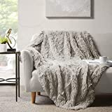 Hyde Lane Fluffy Cute Throw Blankets for Couch Sofa - 2 Way Reversible Ultra...