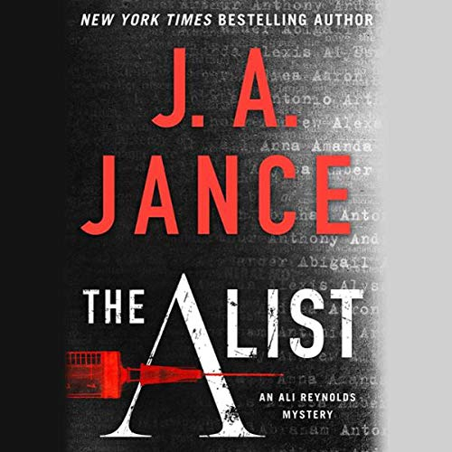 The A List audiobook cover art