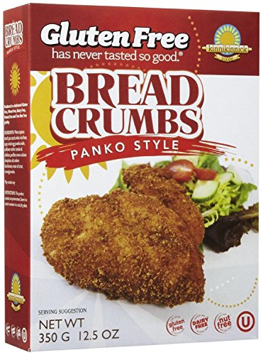 Kinnikinnick Panko Bread Crumbs, 12.5 oz (Pack of 3)