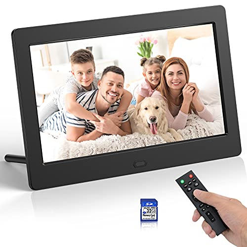 7 Inch Digital Picture Frames IPS Screen Digital Photo Frame with...