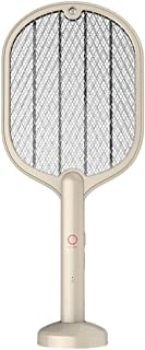 FAVOMOTO Electric Mosquito Swatter Handheld Fly Swatter Zap Mesh Insect Swatter Mosquito Killer Device