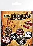 The Walking Dead BP0579 Pack de Chapas