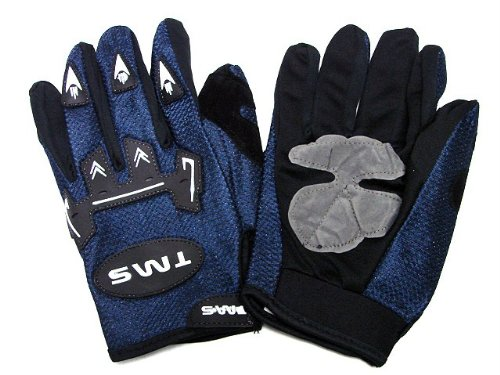 TMS Youth Tms Atv Motocross Mx Dirt Street Bike Gloves Blue