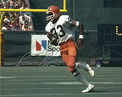 Autographed Reggie Rucker 8x10 Photo Cleveland Browns