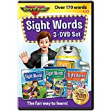 Sight Words 3-DVD Set by Rock 'N Learn: Over 170+ words includes all pre-primer, primer, and first...