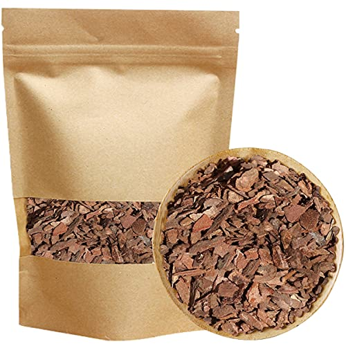Orchid Potting Bark, 2 qt All Natural Pine Wood Chips, Houseplant Mulch, for Proper Root Development on All Orchid Plant Types, 3/8' Size