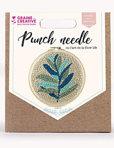 Kit punch needle feuillage