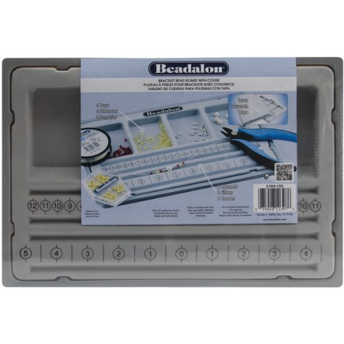 Price comparison product image Beadalon 218H-100 Bracelet Bead Board with Cover