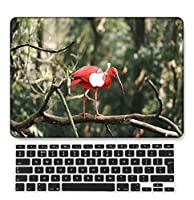 FULY-CASE プラスチックウルトラスリムライトハードシェルケース対応のある新しいMacBook Pro 13インチあり/なしタッチバー/タッチIDUSキーボードカバー A2338 M1/A2289/A2251 (ピンク系 0501)