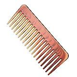 Anself Peigne Large pour Dents Peigne de Santé pour Cheveux Peigne de Coiffure Pour Les Cheveux Lisses ou Bouclés