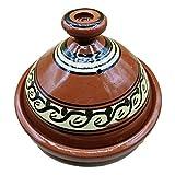 Ameublement Etnico Tajine 1801201005 Casserole Terre cuite Plat Marocain 35 cm