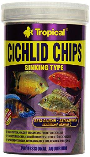 TROPICAL Cichlid Chips Nourriture pour Aquariophilie 1000 ML