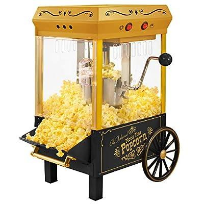 Nostalgia Electrics KPM528 Vintage 10-Cup Kettle Popcorn Maker
