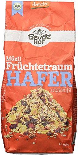 Bauckhof Hafermüsli Früchtetraum Demeter (1 x 425 g)