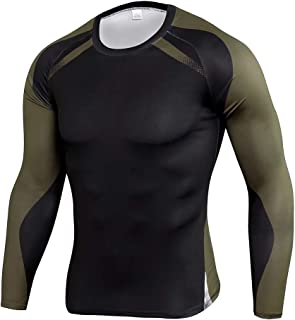 Men's Long Sleeve Dry Fit T Shirts For Gym