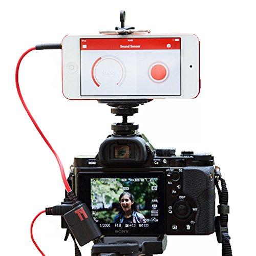 Triggertrap Smartphone-Kabelauslöser Mobile Dongle V3 (mit Kabel für Olympus RM-CB1) Fernauslöser für iPhone, iPad, iPod Touch, Android (Langzeitbelichtung, HDR, Timelapse etc.) Trigger Trap Auslöser Neue Version!