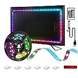 LED Strip Lights,16.4ft Led Backlight TV for 58-80 inch TV, USB Powered RGB Strip Lights Kit for HD TV Desktop PC.TV LED