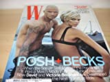 W August 2007 Issue: David And Victoria Beckham