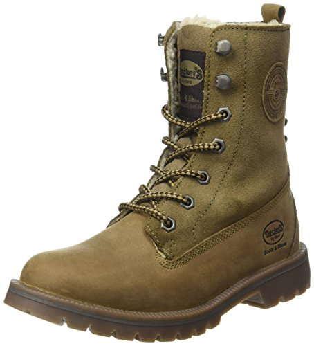 Dockers Women's Ankle Boots, Green Khaki 850, 7.5 US