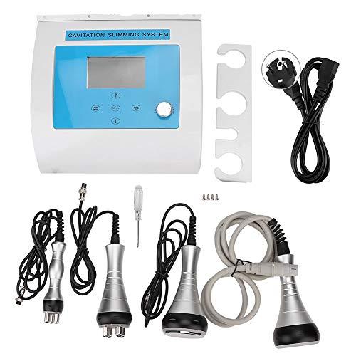 Dispositivo de cavitación ultrasónica, dispositivo de belleza de alta frecuencia 4 en 1 masajeador de celulitis por radiofrecuencia 40K(EU)