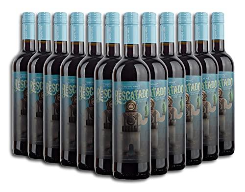 Vino Tinto ECOLÓGICO - Leyenda del Páramo - El Rescatado - Vino Premiado - Caja de 12 botellas de 75cl. - Envio en caja protectora de alta resistencia para un transporte 100% seguro