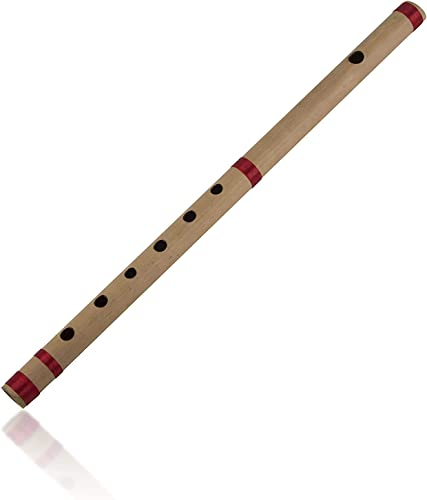 The Great Indian Bazaar Unique Birthday Gift Ideas 17 Authentic Indian Wooden Bamboo Flute In A Key Fipple Woodwind Musical Instrument Recorder Traditional Bansuri Hand Crafted Gifts For Adult Kids
