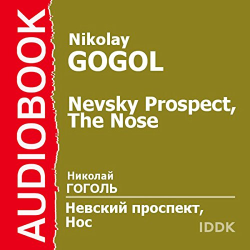 Nevsky Prospect and The Nose [Russian Edition] audiobook cover art