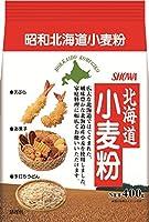 昭和 北海道小麦粉 400g×2個
