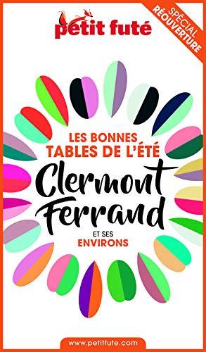 Couverture du livre BONNES TABLES CLERMONT-FERRAND 2020 Petit Futé