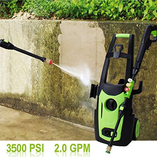 Indigano Limpiador a presión eléctrico Motor de Cobre de 1800 W ...