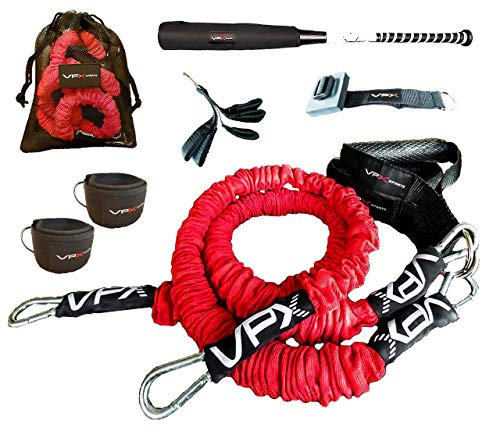 VPX Baseball Softball Resistance Bands Training System | Improves Velocity, Power, Speed, Arm Care, Strength Workouts, Physical Therapy | Perfect for Home, Gym, Hitters, Pitchers, Catchers, Fastpitch