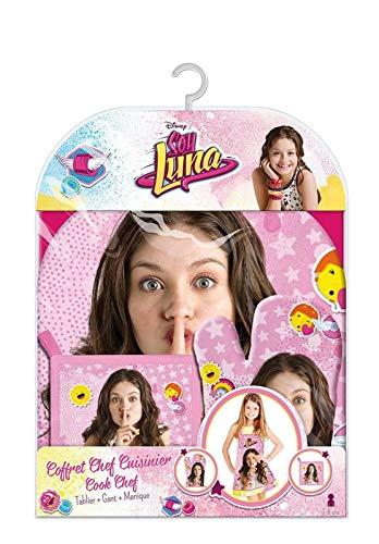 2353; Disney Soy Luna keukenpakket; schort handschoen en want; ideaal voor geschenken; 100% polyester product