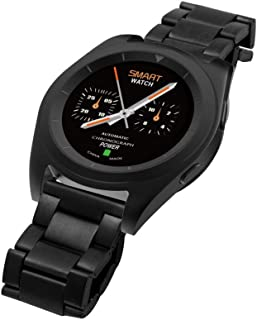 Smart Watch Metal Band For Android,Black - NO.1 G6