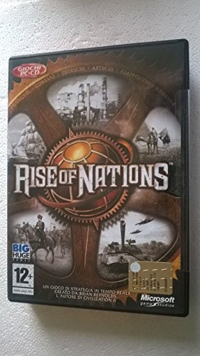 RISE OF NATIONS DVD BOX ITA pc