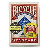 BICYCLE(バイスクル) トランプ スペシャル ショートデック 赤 [並行輸入品] [E625]
