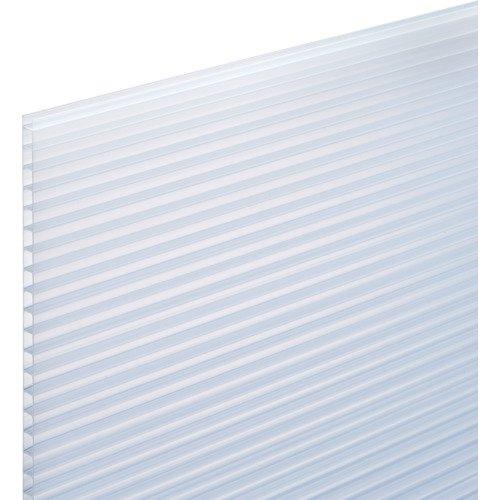 光 ポリカ中空ボード乳白半透明4mm 1820X910 KTP1894W3-6174 【4702522】