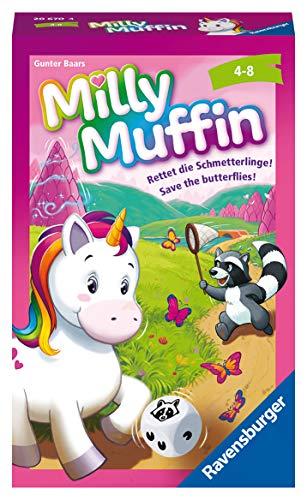 Ravensburger Mitbringspiele 20670 - Milly Muffin, kooperatives Einhorn Kinderspiel ab 4 Jahren