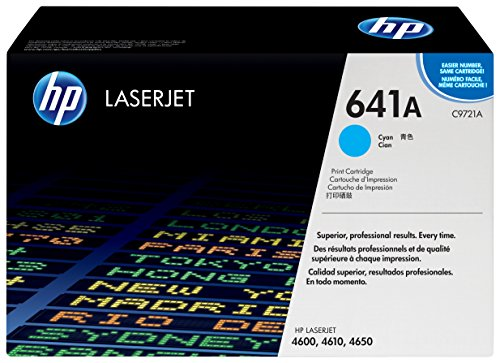 HP 641A (C9721A) Blau Original Toner für HP Color Laserjet 4600, HP Color Laserjet 4650