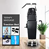 ECO-Worthy New Massage Bed Table Cervical and Lumbar Traction Bed Body Stretching Device