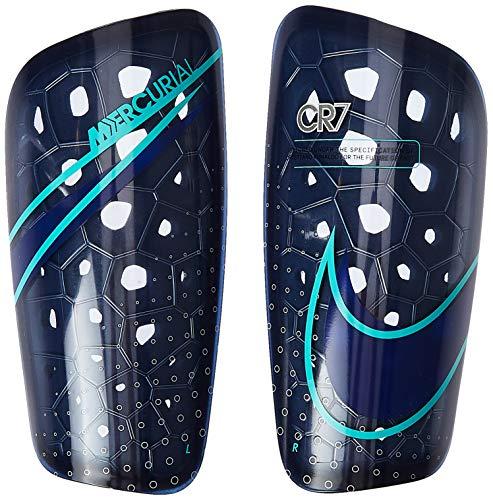 Nike Cr7 Nk MERC Lt Grd Long Sleeve Top für Herren L leereblau/Silber/Aurora-Grün
