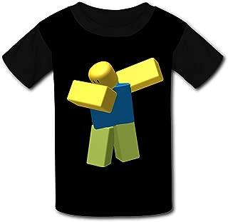 QIANBAIHUI Kids Youth R-ob-lox 3D Printed O-Neck T Shirt Tee