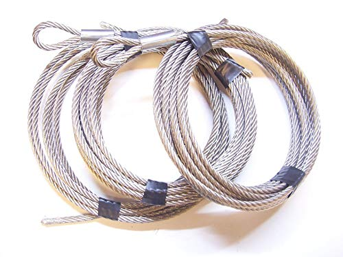 Ice Castle Winch Replacement Cable Set 1/4