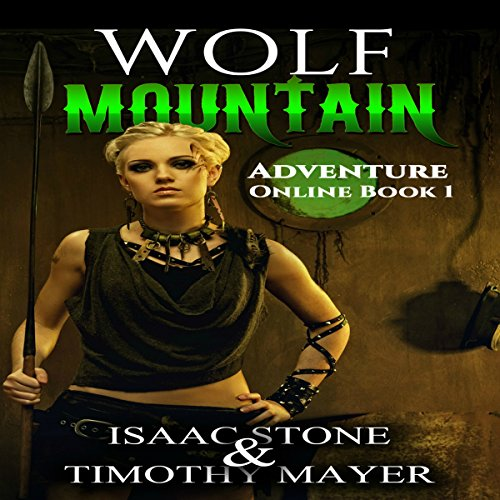 Wolf Mountain audiobook cover art