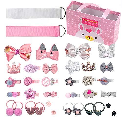 Sunwuun 36pcs Hair Clips Set for Little Girls Hair Accessories Cute Baby...