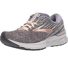 Brooks Adrenaline GTS 19, Zapatillas de Running para Mujer, Negro Púrpura Coral, 35.5 EU: Amazon.es: Zapatos y complementos