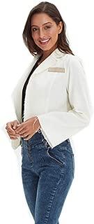 Xintianji Womens Casual Long Sleeve Thin Coat Cotton Jacket for All Season Daily Dress