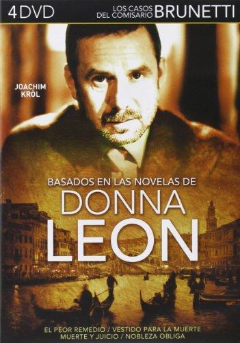 Los Mejores Casos Del Comisario Brunetti - (4 DVD)