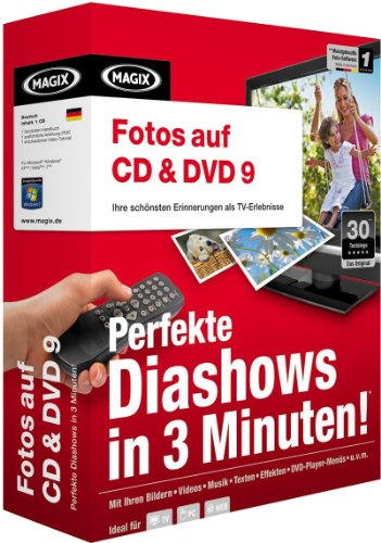 MAGIX Fotos auf CD & DVD 9