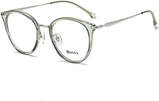 e6efe7e03e Donna Vintage Fashion Eyeglass Round Frame Unisex Computer Reading Glasses  DN48